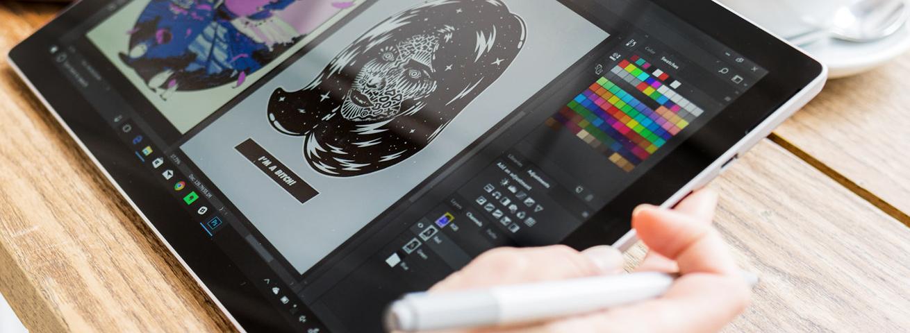 گرافیک لب تاپ surface pro 2017
