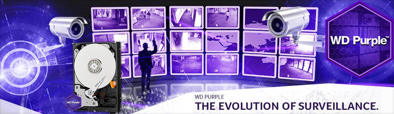 هارد دیسک اینترنال Western Digital سری بنفش