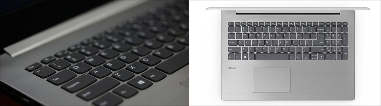 کیبورد و تاچ پد لپ تاپ لنوو IP330