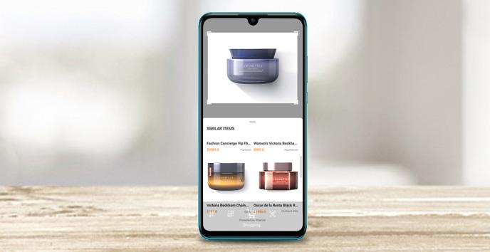 با گوشی موبایل هواوی P30 Lite ببینید، اسکن کنید و خرید کنید