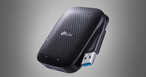 طراحی مناسب هاب USB 3.0 تی پی لینک UH400