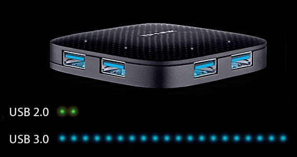 انتقال دیتا با سرعت 5 گیگابایت در ثانیه با هاب USB 3.0 تی پی لینک UH400