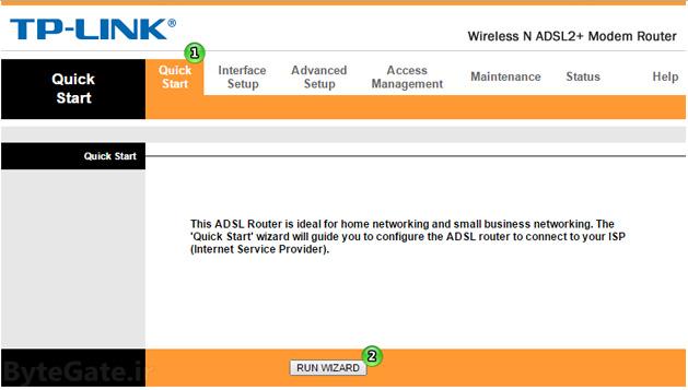 راه اندازی سریع و مدیریت آسان مودم روتر بی سیم تی پی لینک TD-W8961N