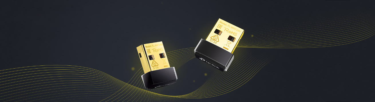 طراحی مینیاتوری کارت شبکه بی سیم USB TL-WN725N
