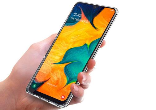 صفحه نمایش خیره کننده گوشی موبایل سامسونگ A30 ظرفیت 64 گیگابایت