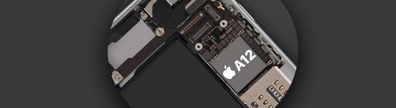 اتصالات چیپست Apple A12 Bionic