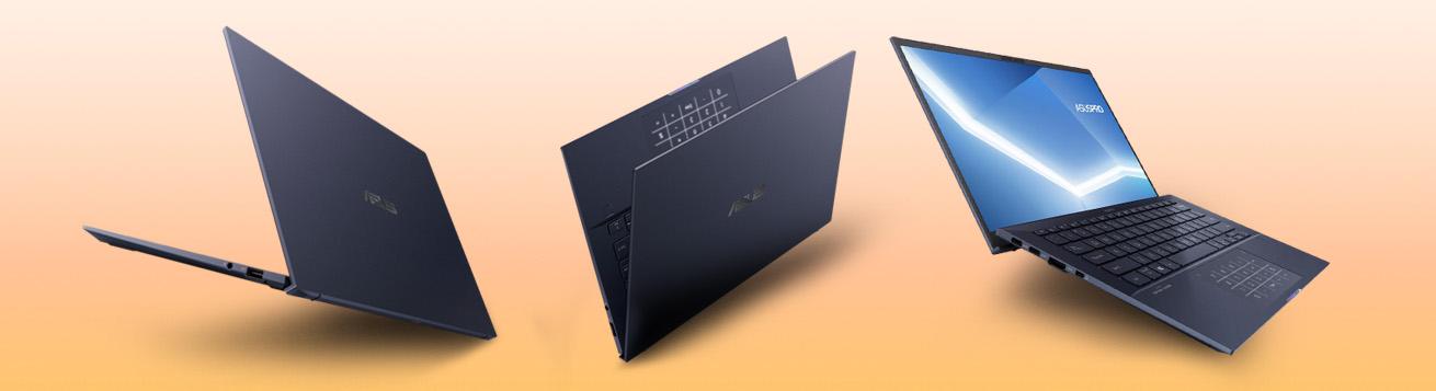 AsusPro B9، سبکترین لپ تاپ 14 اینچی دنیا