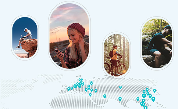 اشتراک گذاری شبکه 4G LTE در مودم تی پی لینک MR200