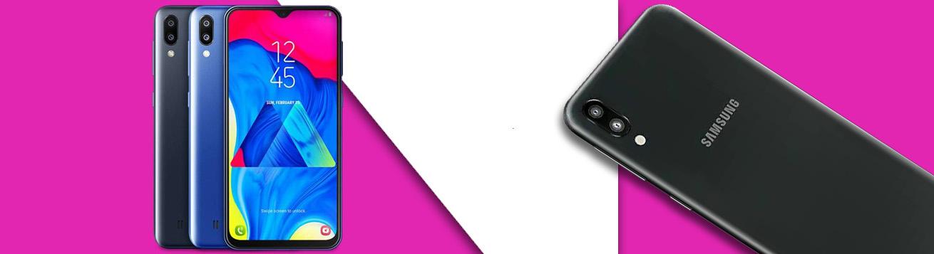 طراحی باریک گوشی سامسونگ گلکسی M10 ظرفیت 32 گیگابایتی
