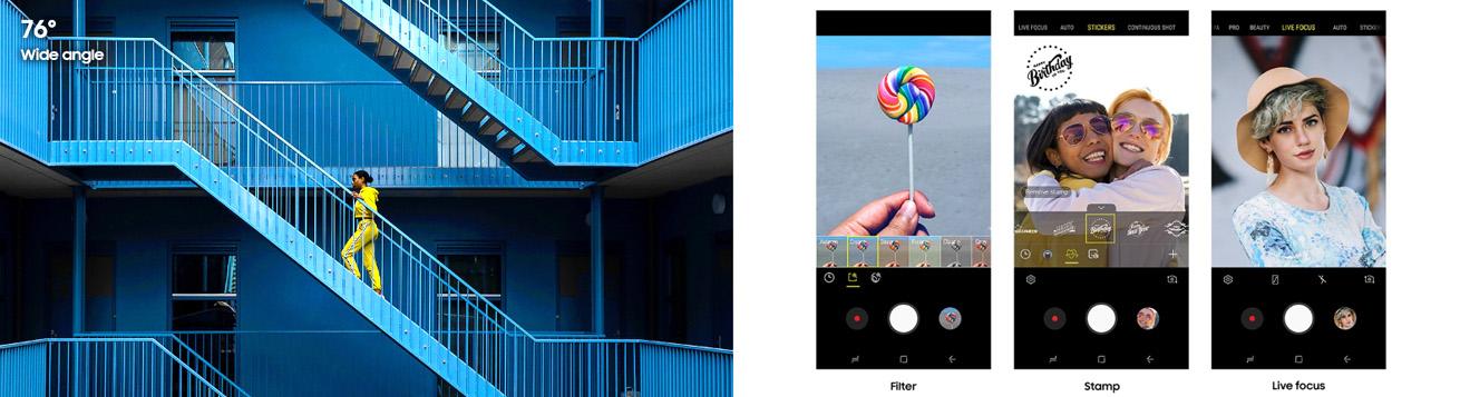 ثبت تصاویر خلاقانه گوشی سامسونگ گلکسی M20 ظرفیت 32 گیگابایت