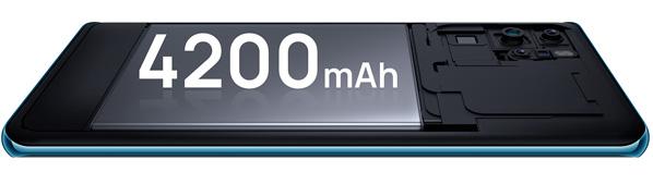 گوشی هواوی پی 30 پرو 128 گیگابایت با باتری با دوام طولانی