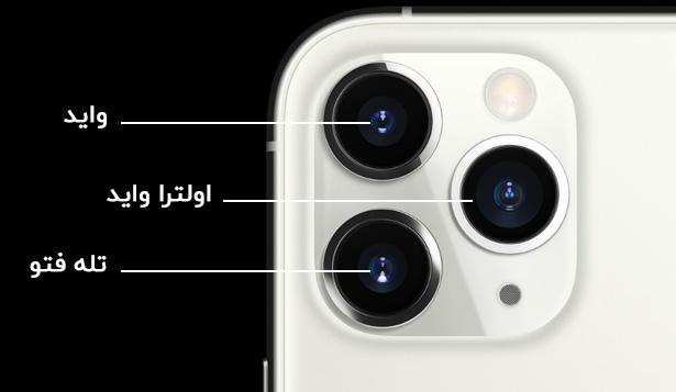 سیستم دوربین حرفه ای گوشی موبایل اپل مدل آیفون 11Pro Max