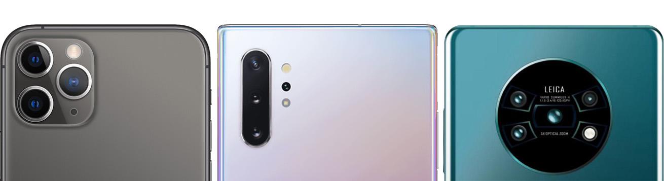 جمع بندی مقایسه عملکرد دوربین های سه گوشی Mate 30 Pro ،iPhone 11 Pro و Galaxy Note10 Plus