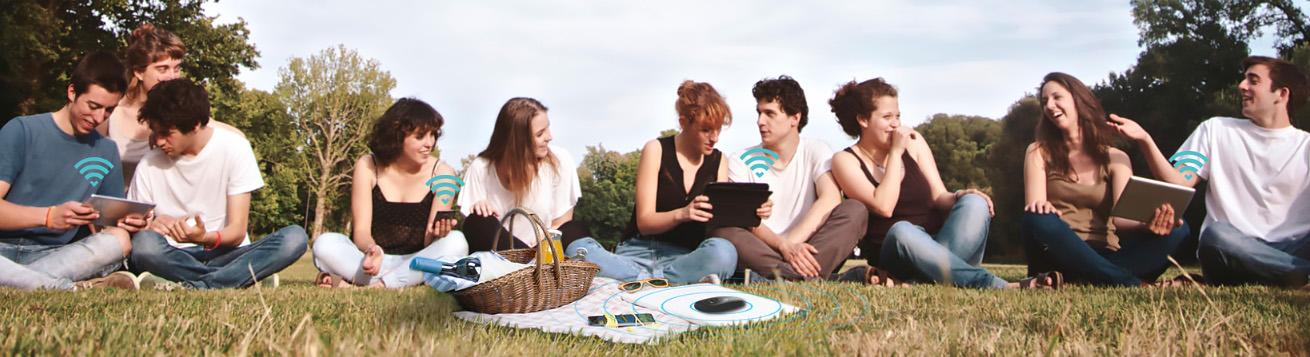 اشتراک گذاری همزمان ایترنت با ده دستگاه در مودم 4G تی پی لینک M7200