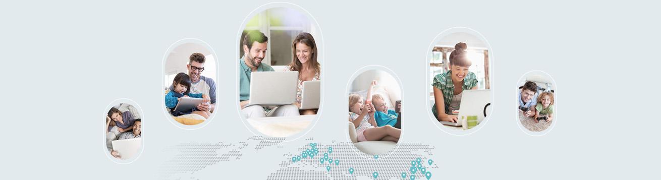 اشتراک گذاری شبکه 4G LTE در مودم 4G تی پی لینک MR6400