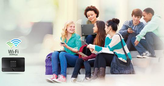 اشتراک گذاری آسان شبکه Wi-Fi با مودم 4G تی پی لینک M7350