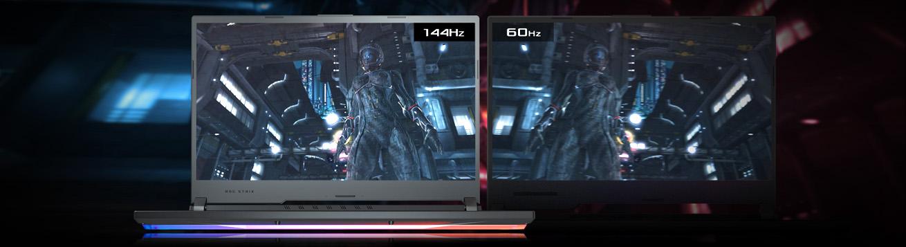 لپ تاپ گیمینگ ایسوس ROG STRIX G531GT با نمایشگر متفاوت