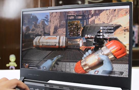 رهگیری پرتو در بازی ها با لپ تاپ گیمینگ ایسوس ROG STRIX G531GT