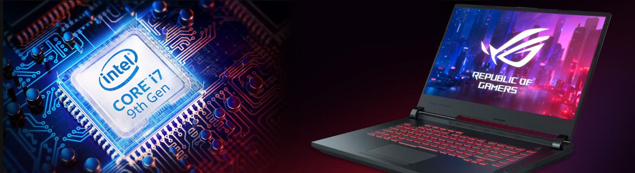 لپ تاپ گیمینگ ایسوس ROG STRIX G531GT با پردازنده نسل نهم Intel