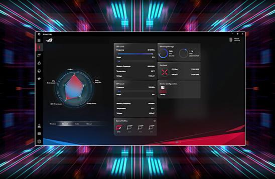 لپ تاپ گیمینگ ایسوس ROG STRIX G531GT با تکنولوژی Armoury Crate