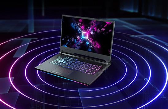 لپ تاپ گیمینگ ایسوس ROG STRIX G531GT با سیگنال قوی Wi-Fi