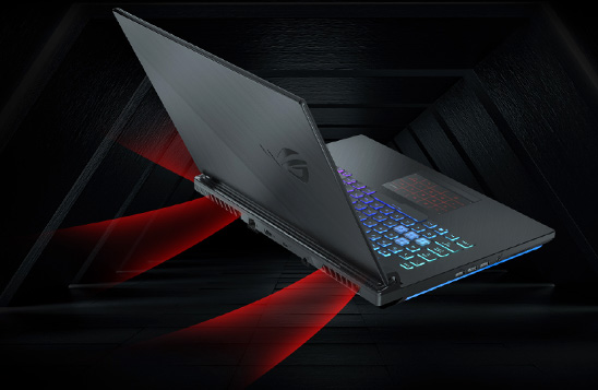 لپ تاپ گیمینگ ایسوس ROG STRIX G531GT با سیستم خنک کننده هوشمند