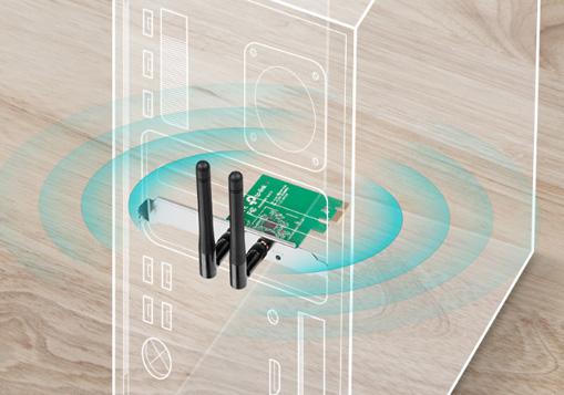 کارت شبکه بی سیم تی پی لینک TL-WN881ND با اتصال Wi-Fi پایدار