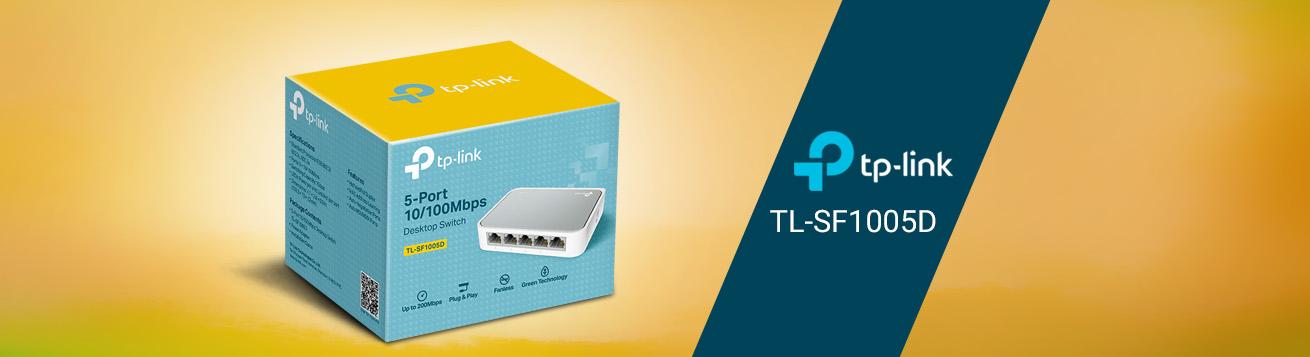 سوییچ تی پی لینک TL-SF1005D