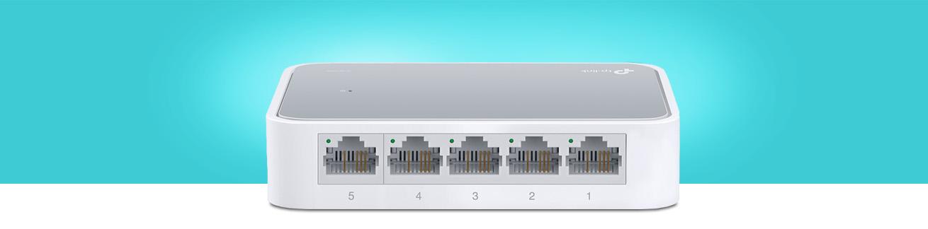 سوییچ تی پی لینک TL-SF1005D با عملکرد مناسب
