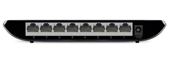 سوییچ پی تی لینک TL-SG1008D با عملکرد مناسب