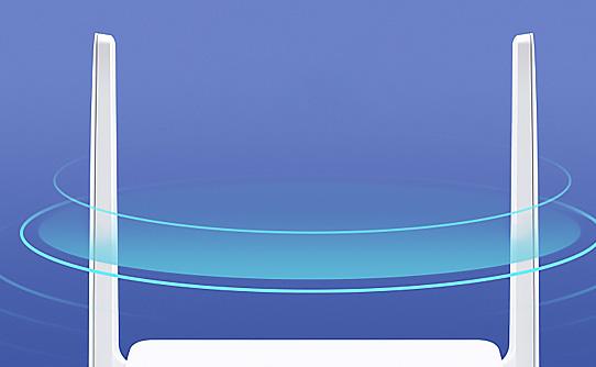 پوشش وسیع روتر بی سیم مرکوسیس MW301R با دو آنتن قدرتمند