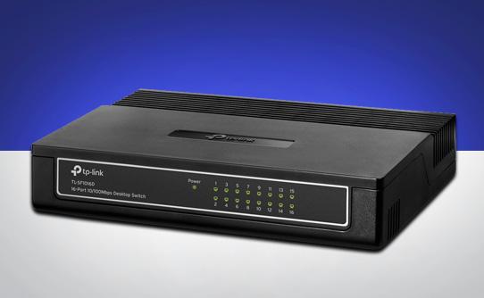 سوییچ تی پی لینک TL-SF1016D با استفاده آسان