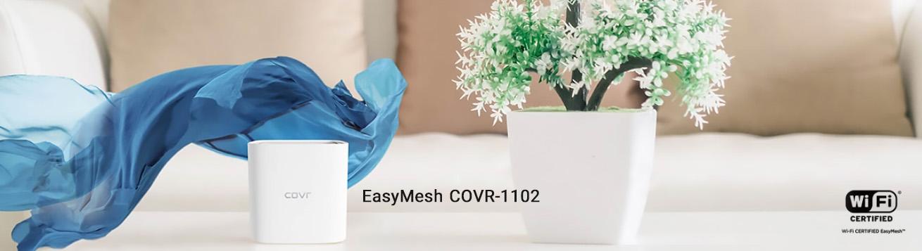 سیستم EasyMesh COVR-1102 توسط D-Link معرفی شد