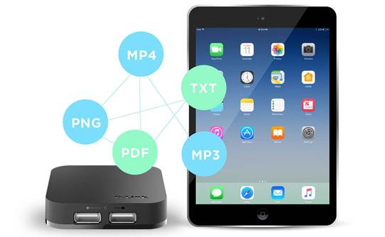 هاب یو اس بی 2 دی لینک DUB-H4 با قابلیت همگام سازی و شارژ iPad