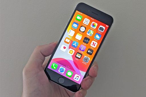 صفحه نمایش Retina HD گوشی موبایل اپل مدل آیفون SE 2020