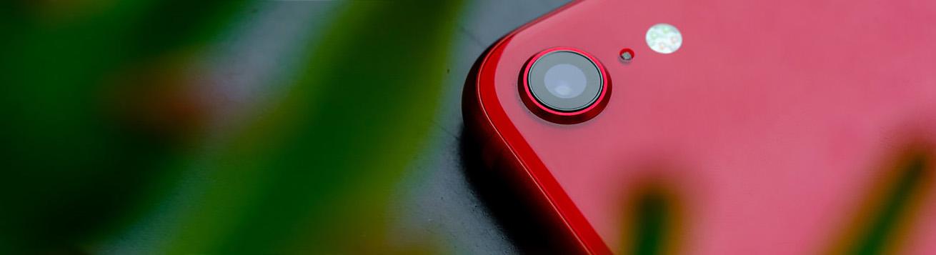 دوربین اصلی با یک لنز گوشی موبایل اپل مدل آیفون SE 2020