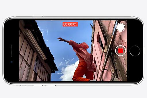 ضبط ویدئوهای 4K گوشی موبایل اپل مدل آیفون SE 2020