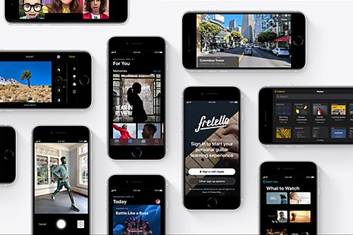 قابلیت های متعدد گوشی موبایل اپل مدل آیفون SE 2020