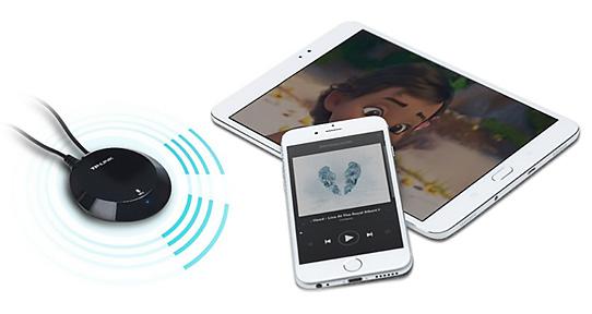 گیرنده موزیک بلوتوث تی پی لینک HA100 با اتصال بلوتوث