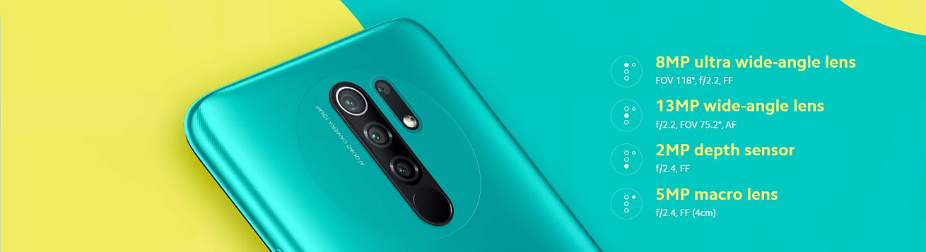 گوشی موبایل شیائومی Xiaomi Redmi 9-3/32GB