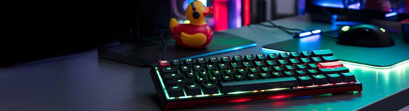 معرفی مینی کیبورد گیمینگ HyperX x Ducky One 2