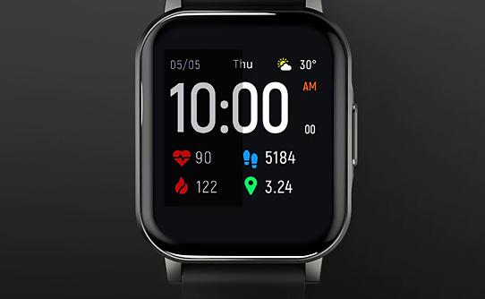 ساعت مچی هوشمند شیائومی هایلو Watch 2 LS02 با صفحه نمایش رنگی بزرگ