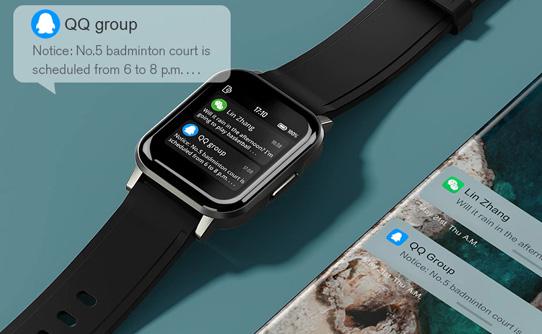 ساعت مچی هوشمند شیائومی هایلو Watch 2 LS02 مجهز به بلوتوث نسخه 5.0
