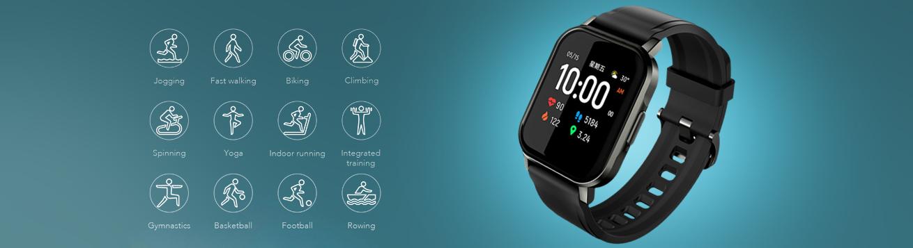 ساعت مچی هوشمند شیائومی هایلو Watch 2 LS02 مجهز به 12 حالت ورزشی