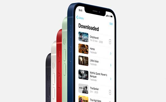 بهره گیری گوشی موبایل اپل آیفون 12 ظرفیت 64 گیگابایت از اینترنت 5G