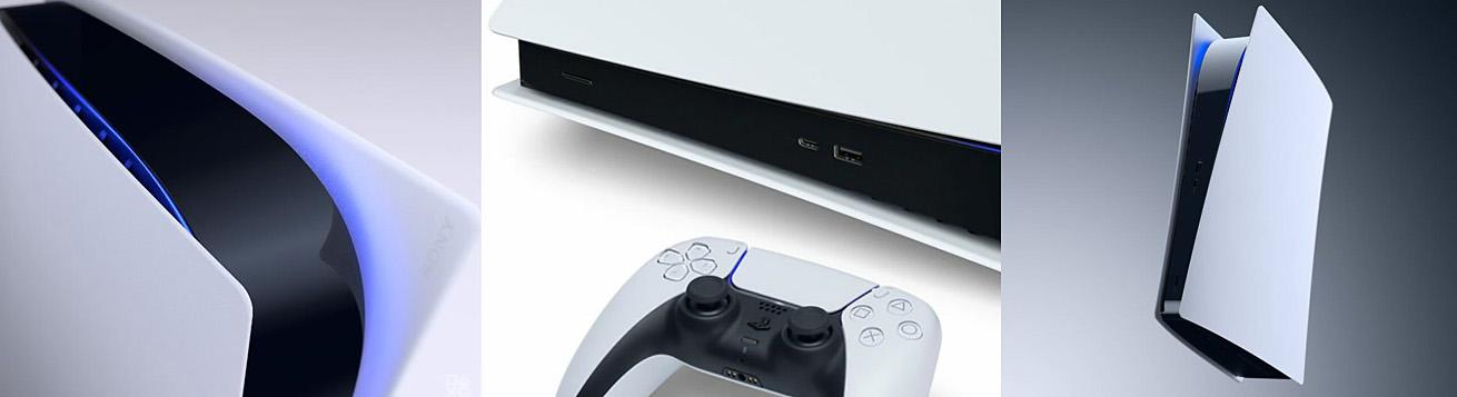طراحی جدید و مناسب کنسول بازی سونی PS5 Digital Edition ظرفیت 1 ترابایت