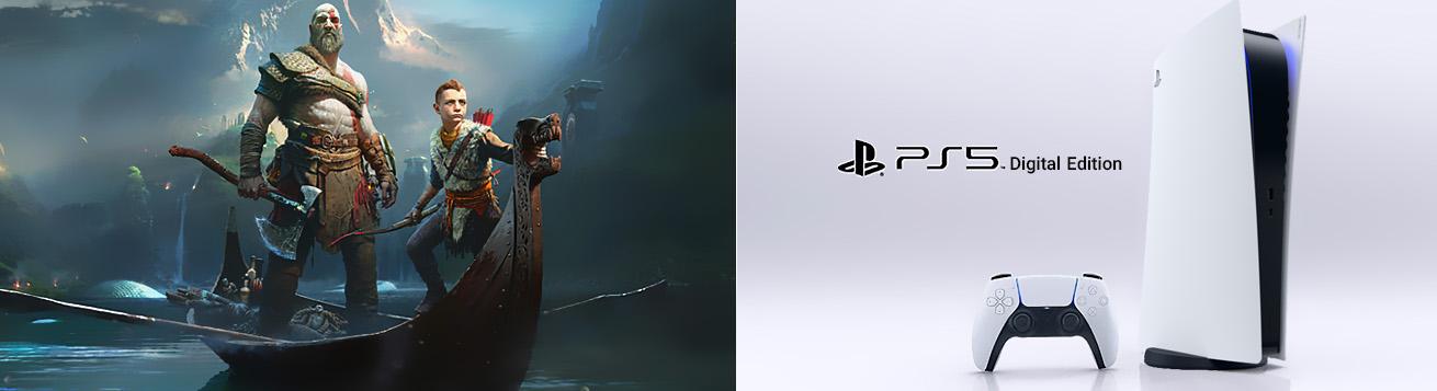 کنسول بازی سونی PS5 Digital Edition ظرفیت 1 ترابایت با عملکرد قابل توجه
