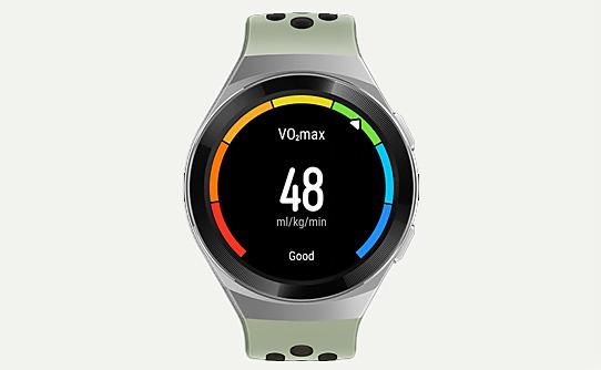 سنجش حداکثر میزان اکسیژن مصرفی با ساعت مچی هوشمند هواوی Watch GT 2e