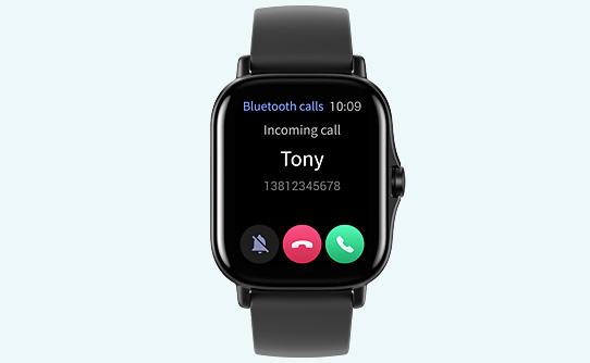امکان پاسخگویی مستقیم به تماس ها با ساعت هوشمند شیائومی Amazfit GTS 2