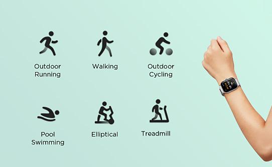 ساعت هوشمند شیائومی Amazfit GTS 2 با پشتیبانی از 90 فعالیت ورزشی